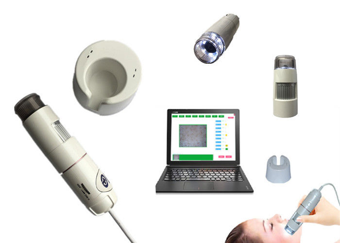 Skin Hair Testing Machine Facial Analyzer Scanner For Home And Beauty Salon