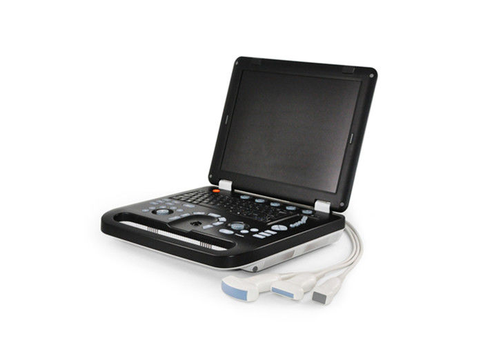 Notebook Laptop Ultrasound Scanner Color Doppler Machie With 15'' LED Monitor