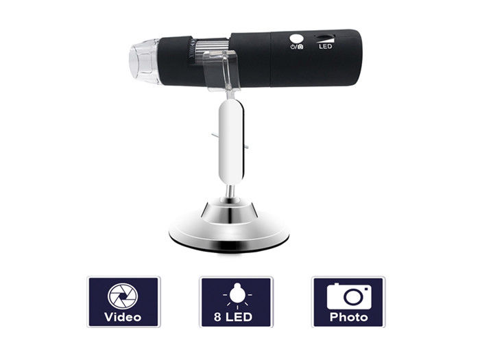 Handheld Dermal Videoscope Skin Analyer With WIFI Connection And High Image Video Resolution