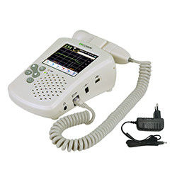 Color And Touch LCD Multiple Display Modes Fetal Heart RateDoppler With Earphone And Speaker
