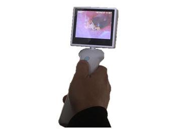 Lityum Pilli Kulak Burun Boğazı için 3,5 inç LCD Ekran Dijital Video Otopsi KBB Kamera
